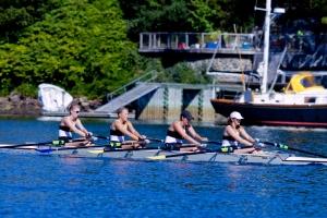Alex, Kaila, Rachel, Erin - Varsity Women's 4X, Gold Medalists